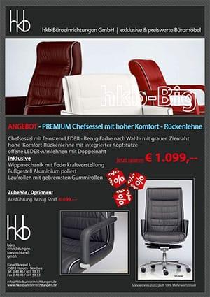 Angebot aus der Kollektion Chefsessel Big von der Firma HKB Büroeinrichtungen GmbH Husum