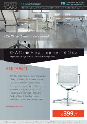 Angebot KEA Chair Besuchersessel Netz aus der Kollektion Bürosessel KEA Chair von der Firma HKB Büroeinrichtungen GmbH Husum