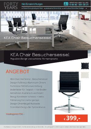 Angebot KEA Chair Besuchersessel aus der Kollektion Bürosessel KEA Chair von der Firma HKB Büroeinrichtungen GmbH Husum