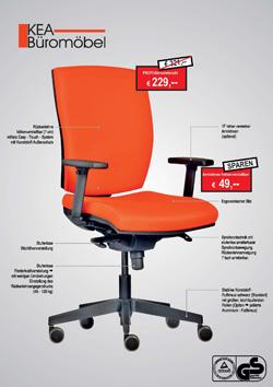 KEA Büromöbel Bürostühle Sonderpreise Katalog
