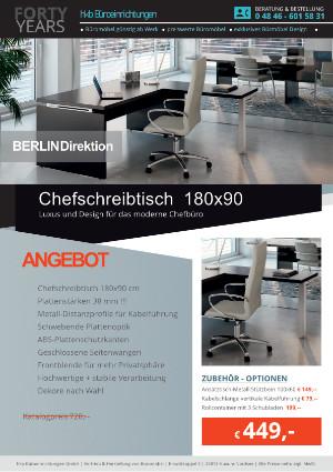 aus der Kollektion Büromöbel Berlin von der Firma HKB Büroeinrichtungen GmbH Husum