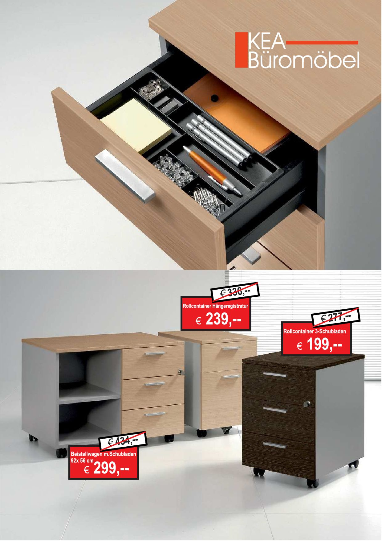 Angebot Büromöbel aus der Kollektion KEA Büromöbel von der Firma HKB Büroeinrichtungen GmbH Husum