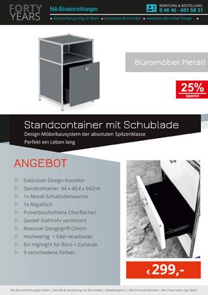 Angebot Rollcontainer aus der Kollektion Büromöbel Metall von der Firma HKB Büroeinrichtungen GmbH Husum