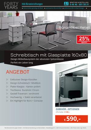 Angebot aus der Kollektion Büromöbel Metall von der Firma HKB Büroeinrichtungen GmbH Husum