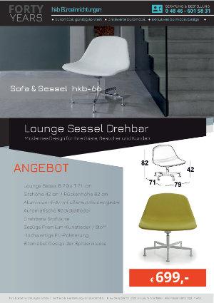 Angebot Lounge Sessel Drehbar aus der Kollektion hkb-55 von der Firma HKB Büroeinrichtungen GmbH Husum