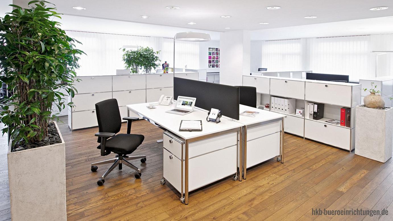 Büromöbel Metall Grossraumbüro