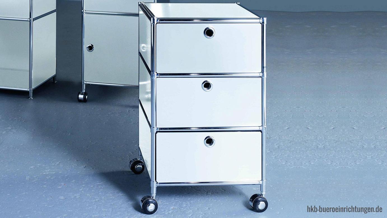 Büromöbel Metall Rollcontainer